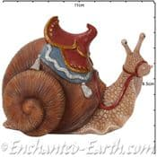 Vivid Arts - Miniature World - Giant Fairy Snail with Saddle