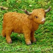 Vivid Arts- Miniature World - Highland Cow