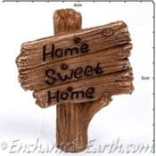 Vivid Arts - Miniature World - Home Sweet Home Sign