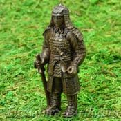 Vivid Arts- Miniature World - Japanese Miniature Garden-Samurai bronze statue