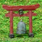 Vivid Arts- Miniature World - Japanese Miniature Garden- Temple Gong -6cm