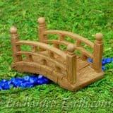 Vivid Arts- Miniature World - Japanese Miniature Garden-Wood Effect Temple Bridge