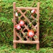 Vivid Arts - Miniature World- Miniature Garden- Mini Rose Trellis