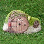 Vivid Arts - Miniature World Plus Size - Burrow House Front -32cm