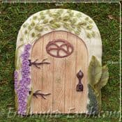 Vivid Arts - Miniature World Plus Size - Washed Oak Door - 20cm
