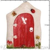 Vivid Arts - Miniature World - Red Countryside Fairy Door