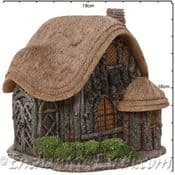 Vivid Arts-Miniature World -Witches House - Blaise Thatched Cottage