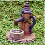 Vivid Arts Miniature World - Wooden Water Pump