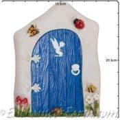 Vivid Arts - XL Blue Meadow Fairy Door