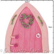 Vivid Arts - XL Pink Boat House Fairy Door