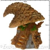 Vivids Arts -Miniature World - Witches Hat Tree House