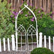 Willow Arbour & Gate  -  Choose from White or Natural