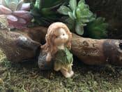 Woodland Dell Fairy- Deema the rock fairy - 6cm