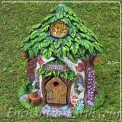 Woodland Fairy Garden House - The Tea Rooms  - 20.5cm