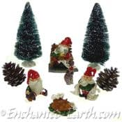Woodland Gnome Winter Gift Set - 9 piece set
