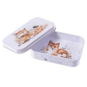 Wrendale Design - Afternoon Nap - Fox - Mini Keepsake Gift Tin
