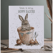 Wrendale Design - Hoppy Easter - Greeting Card