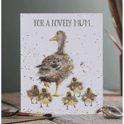 Wrendale Design - Lovely Mum  - Greeting Card