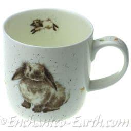 Royal Worcester /Portmeirion - Wrendale Design Mug Rosies Mug -Rabbit