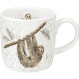 Wrendale Design Royal Worcester Mug - Sloth