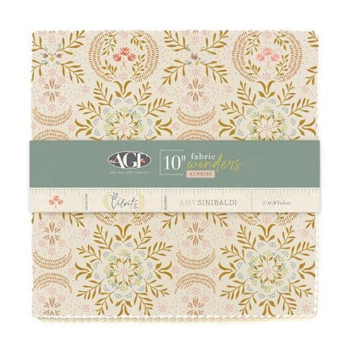 10in Fabric Wonders in Cotton from Velvet by Amy Sinibaldi for AGF