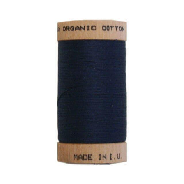 Denim Blue - 100m - Scanfil Organic Cotton