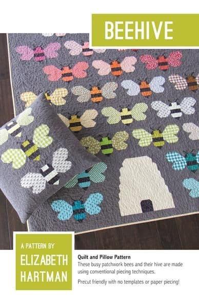 Elizabeth Hartman - Beehive Quilt Pattern