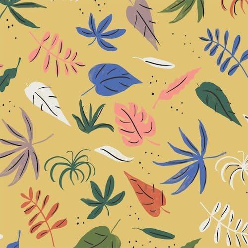 Foliage Gold - Garden of Eden - Cloud9 Fabrics