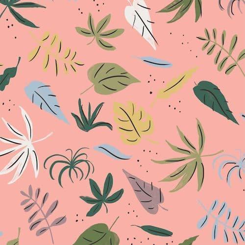 Foliage Pink - Garden of Eden - Cloud9 Fabrics
