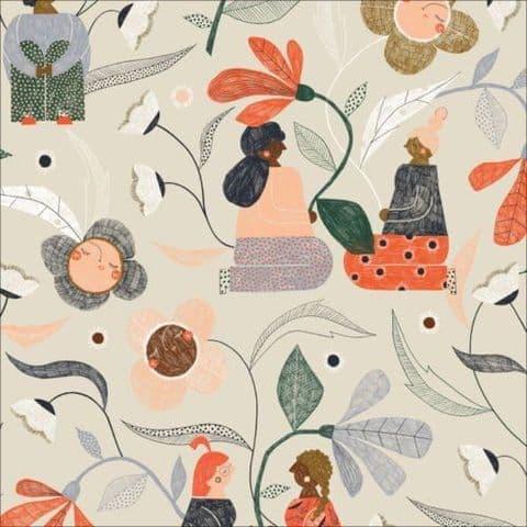 Garden Gather Ivoy - Bloom Together - Cloud9 Fabrics