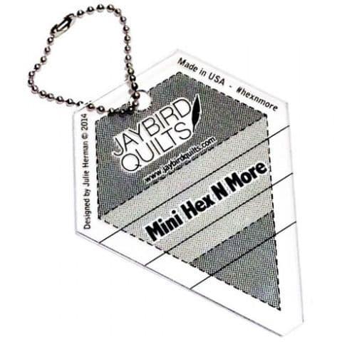 "Jaybird Mini Hex N More Ruler - 3.5"" x  3"""