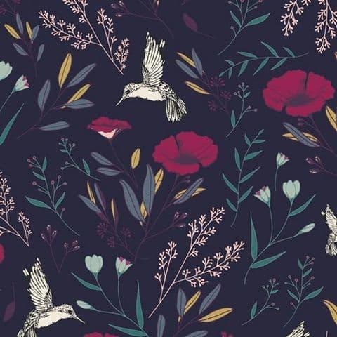 Magical Fauna Mystique - Mystical Land - Art Gallery Fabrics