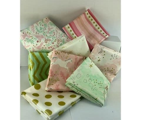 Michael Miller's Mermaid Magic - 8 piece fat quarter pack