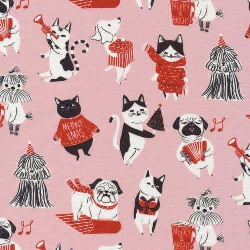 Pawsome Holidays - Jingle Mingle - Cloud9 Fabrics