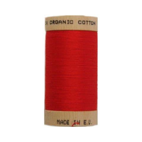 Red - 100m - Scanfil Organic Cotton