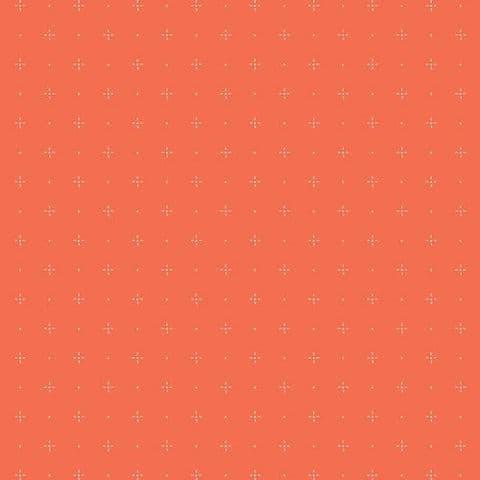Starry Orange You - Dew & Moss - Art Gallery Fabrics