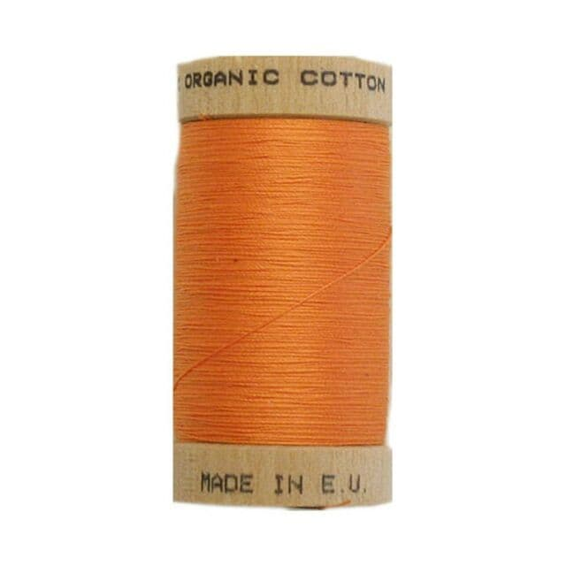 Tangerine - 100m  - Scanfil Organic Cotton