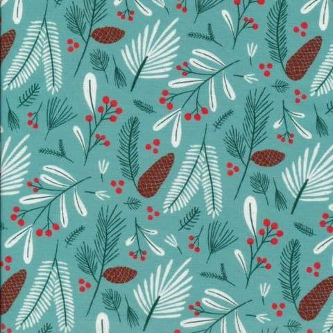 Winter Flora - Jingle Mingle - Cloud9 Fabrics