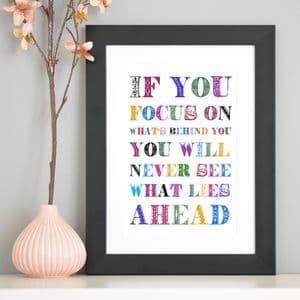 Focus On Life Inspirational Art