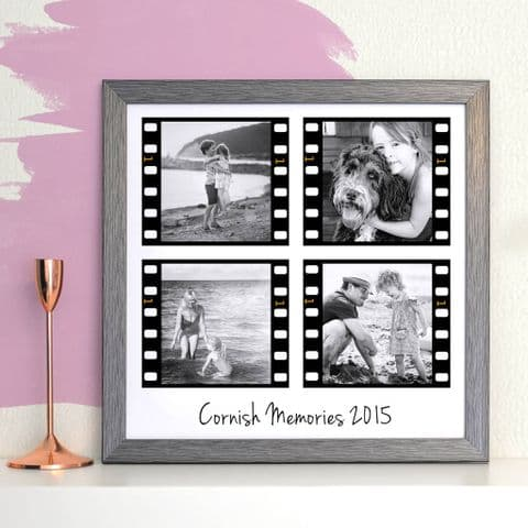 Personalised Film Strip Photo Collage