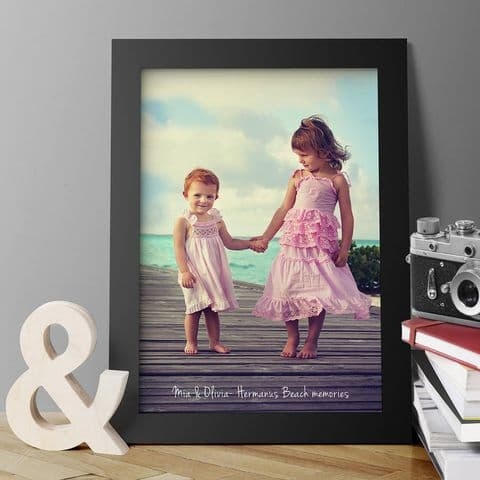 Personalised Framed Or Unframed Photo Print
