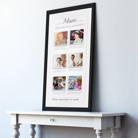 Personalised Our Memories Photo Art