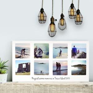 Personalised Photo Collage Landscape Art