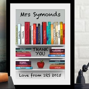 Personalised 'Thank You Teacher' Art