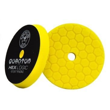 Chemical Guys Hex Yellow Logic Quantum Cutting/Compounding Pad 5.5""