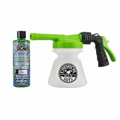 Chemical Guys TORQ Snow Foam Blaster R1 & Honeydew Snow Foam 16 oz Kit