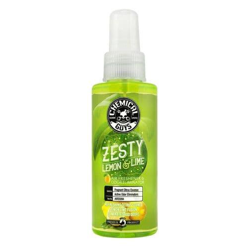 Chemical Guys Zesty Lemon & Lime Air Freshener & Odor Eliminator