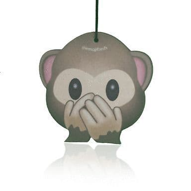 Emoji Cheeky Monkey Air Freshener