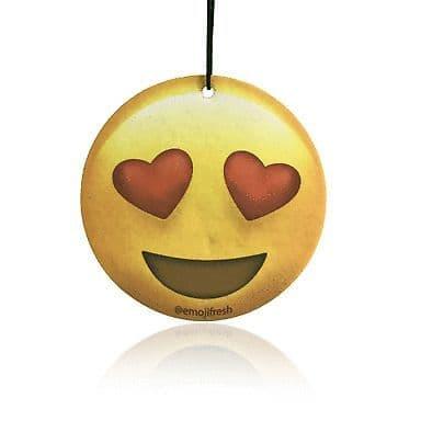 Emoji Heart Eyes Air Freshener