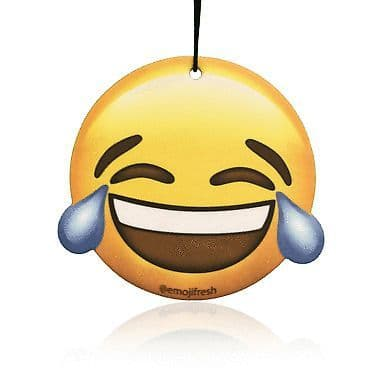 Emoji Laughing Face Air Freshener